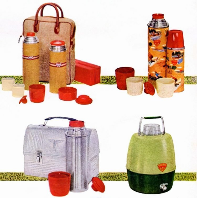 Vintage Thermos gifts from the 1950s (1)