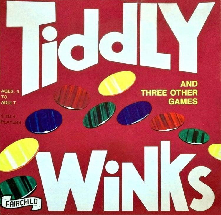 Vintage Tiddly Winks - 1980s