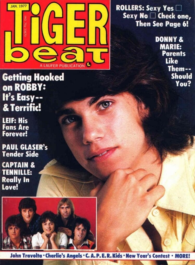 Vintage Tiger Beat from 1977 with Robbie Benson
