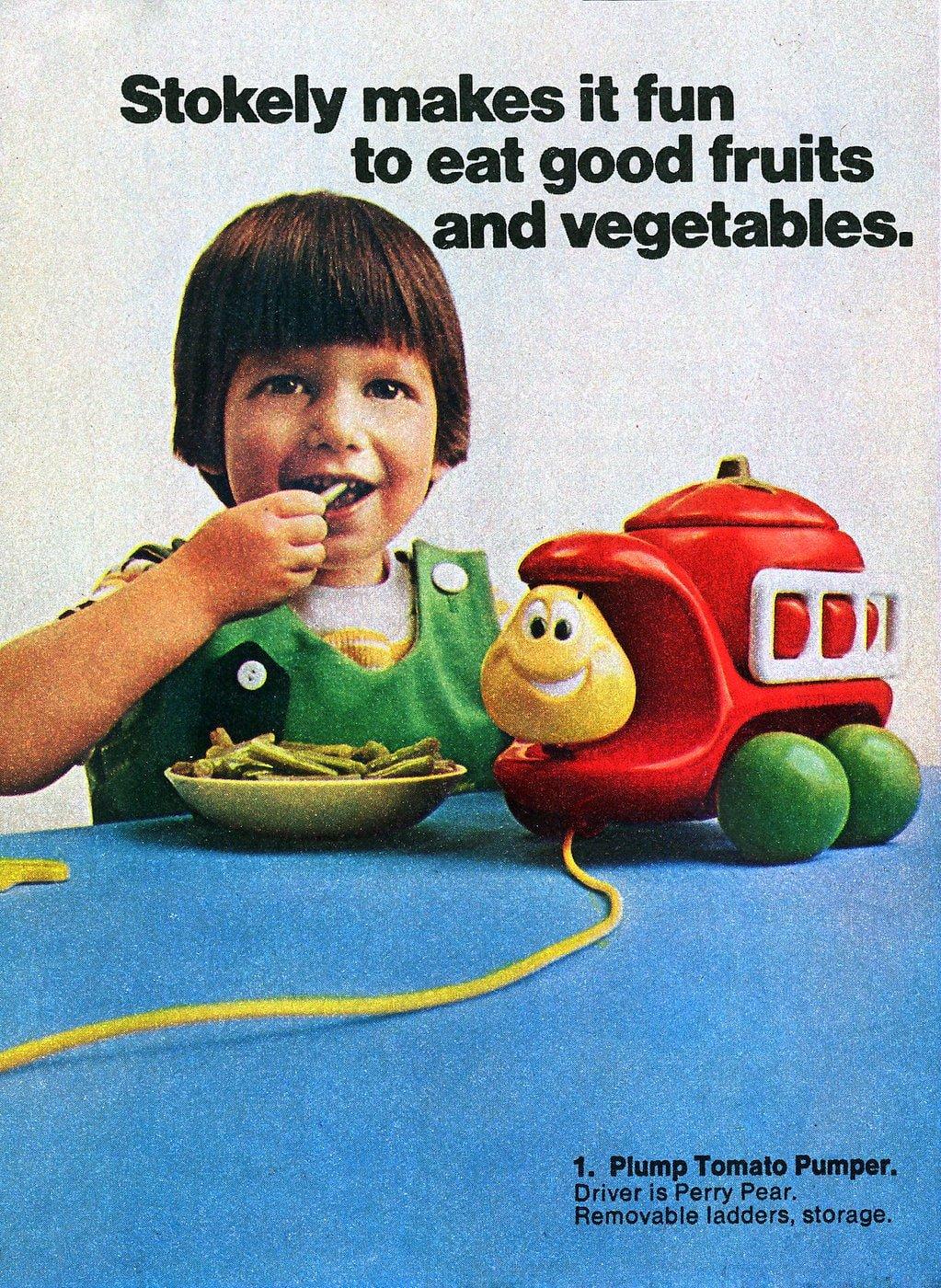 Vintage Tonka Toddler toys - Plump Tomato Pumper (1972)