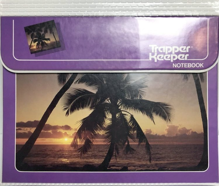 Vintage Trapper Keeper portfolio binders (3)