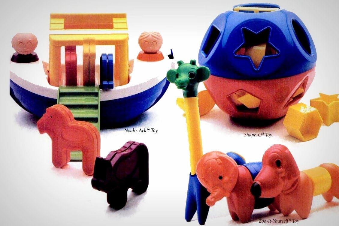 Vintage Tuppertoys plastic Tupperware toys