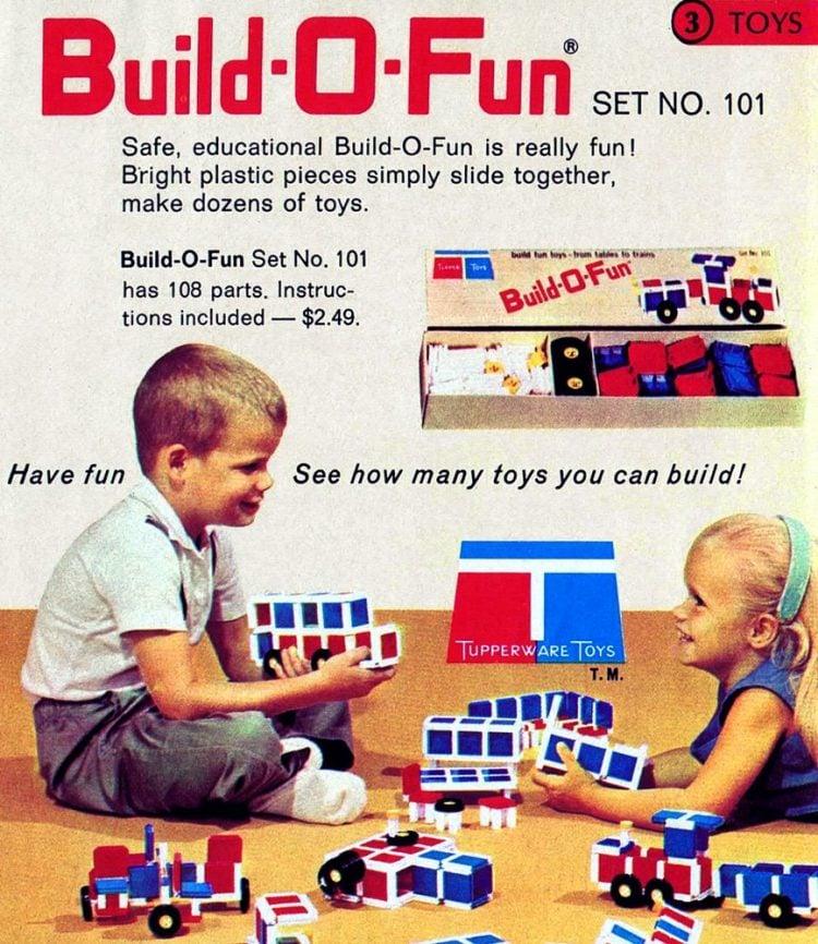 Vintage Tuppertoys - Build-O-Fun