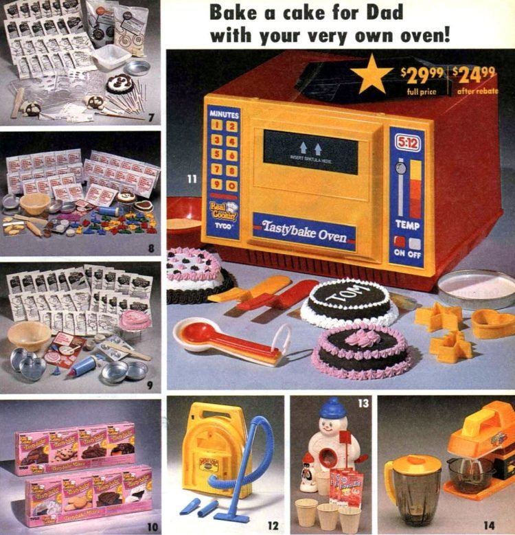 Vintage Tyco TastyBake oven from 1988