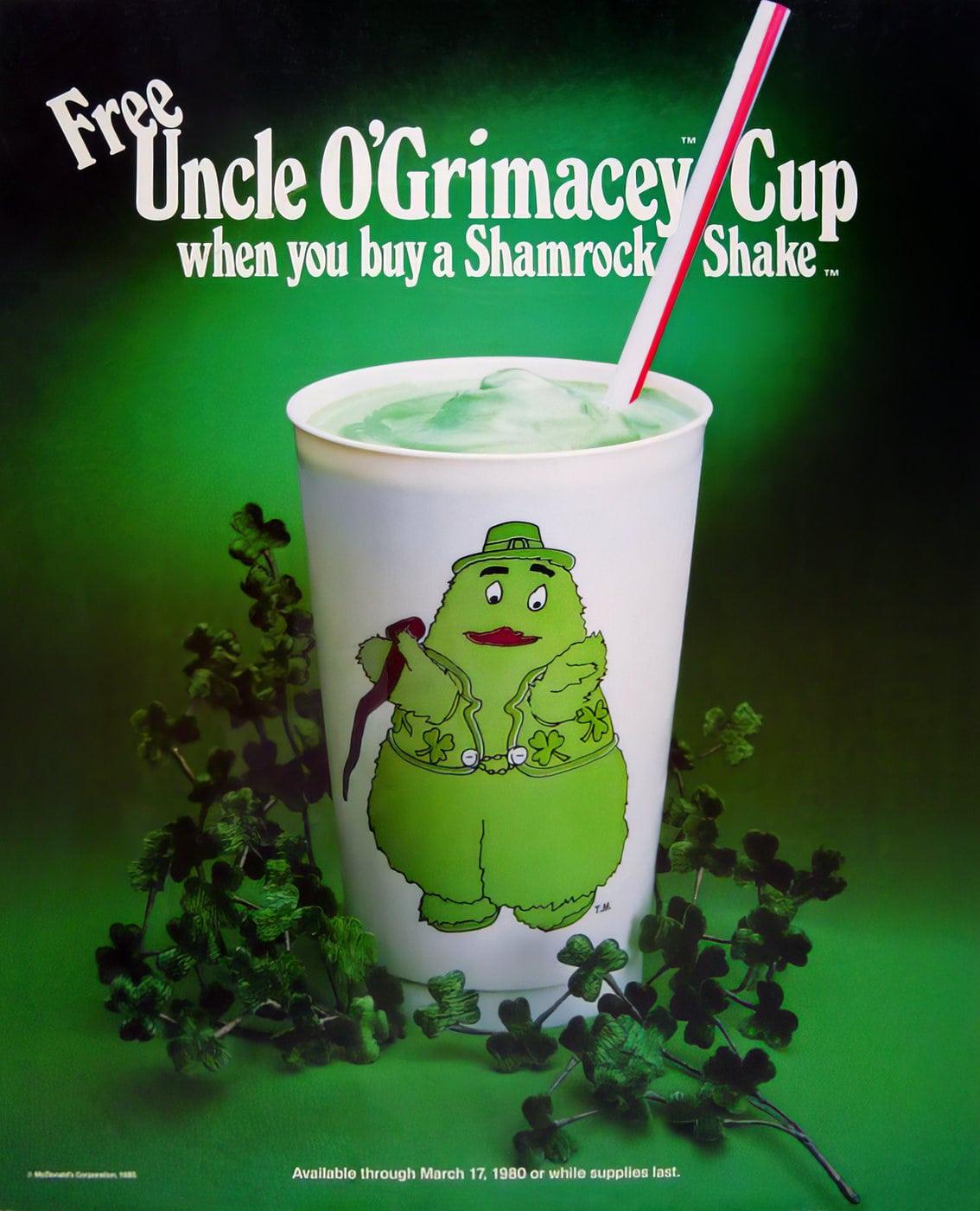 Vintage Uncle O'Grimacey Cup (1980)