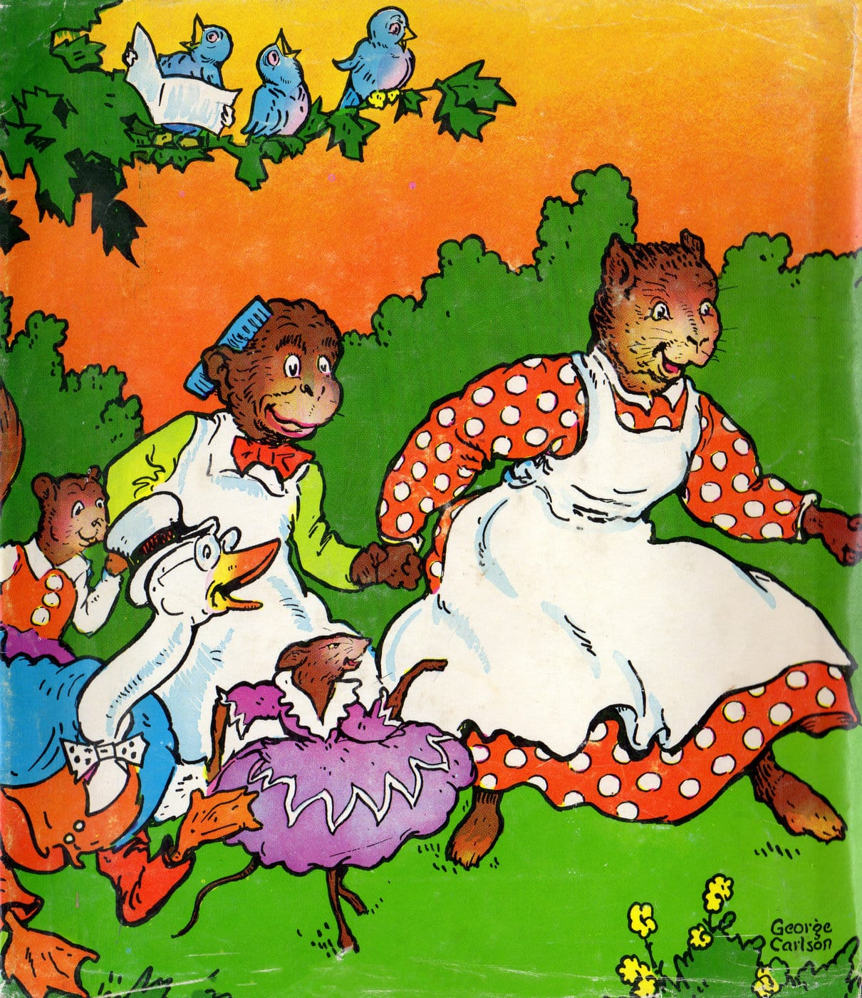 Vintage Uncle Wiggily and His Friends book cover (1)