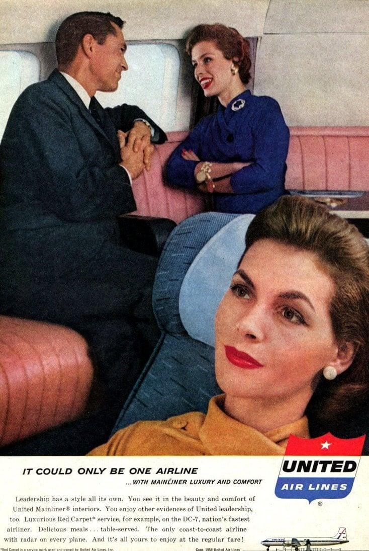 Vintage United Airlines 1958 (1)
