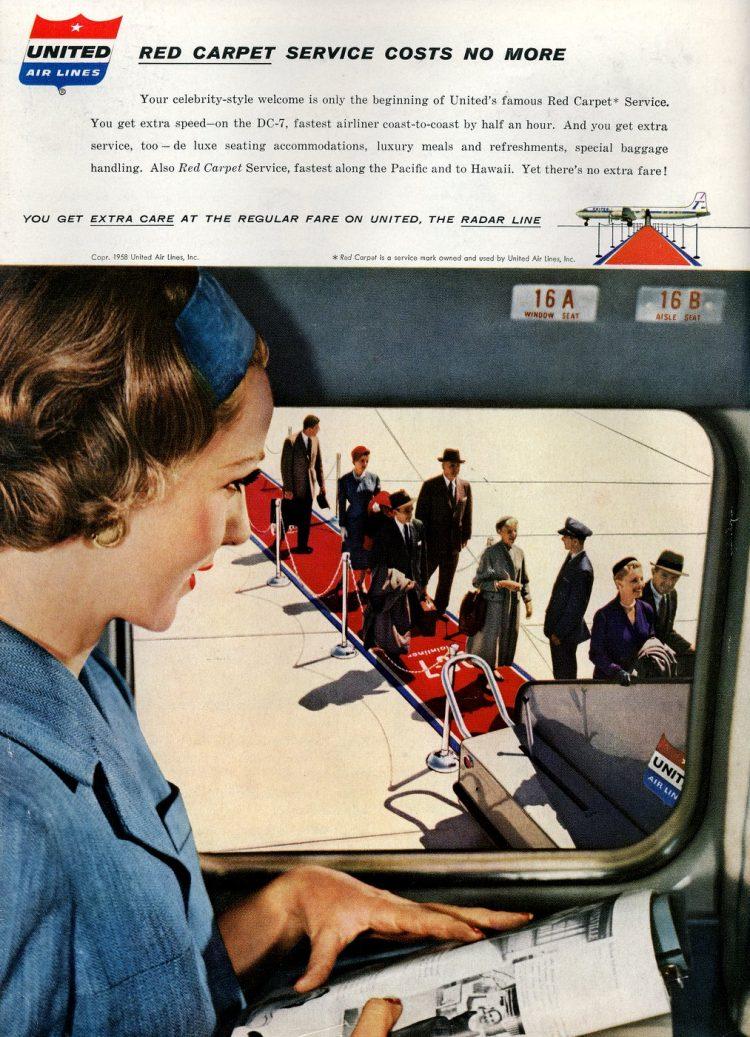 Vintage United Airlines 1958 (3)