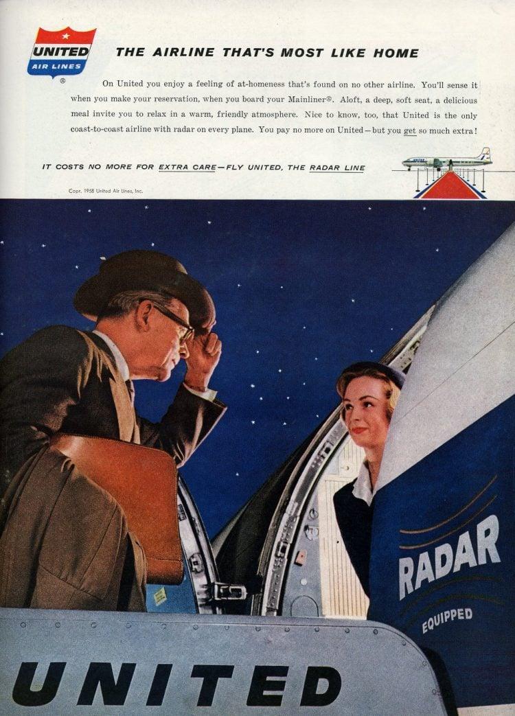 Vintage United Airlines 1958 (4)
