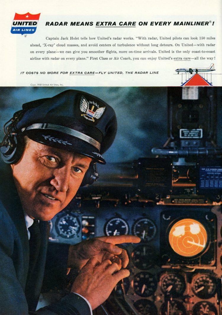 Vintage United Airlines 1958 (5)