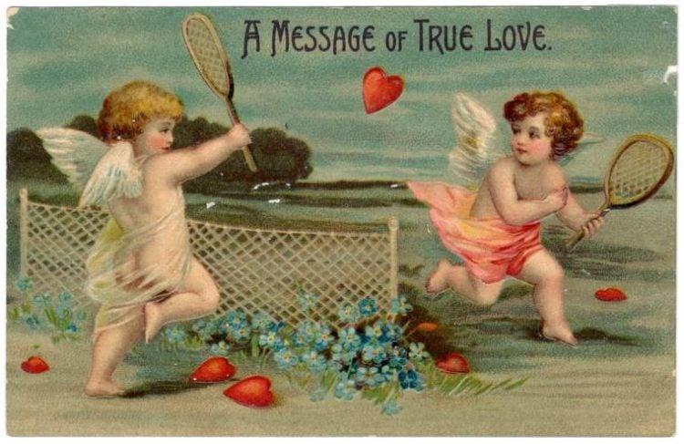 Vintage Valentine's Day cards from around 1900 (1)
