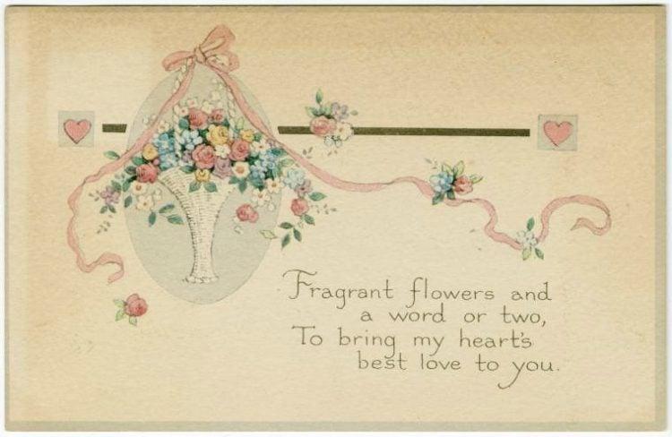 Vintage Valentine's Day cards from around 1900 (10)