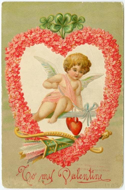 Vintage Valentine's Day cards from around 1900 (11)