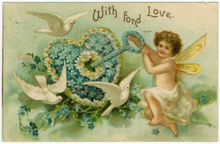 Vintage Valentine's Day cards from around 1900 (13)
