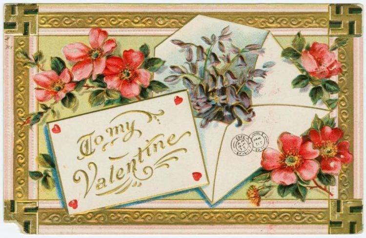 Vintage Valentine's Day cards from around 1900 (14)