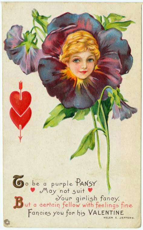 Vintage Valentine's Day cards from around 1900 (15)