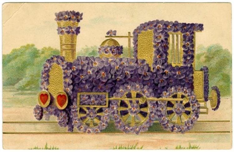 Vintage Valentine's Day cards from around 1900 (2)