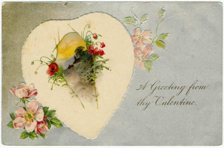 Vintage Valentine's Day cards from around 1900 (3)