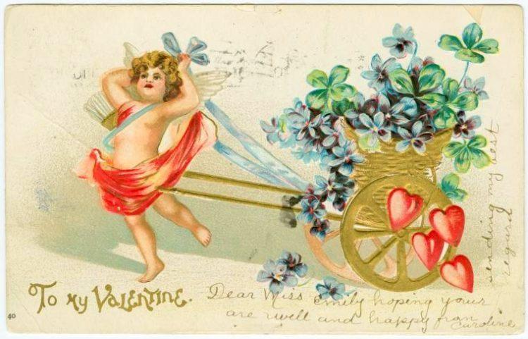 Vintage Valentine's Day cards from around 1900 (7)