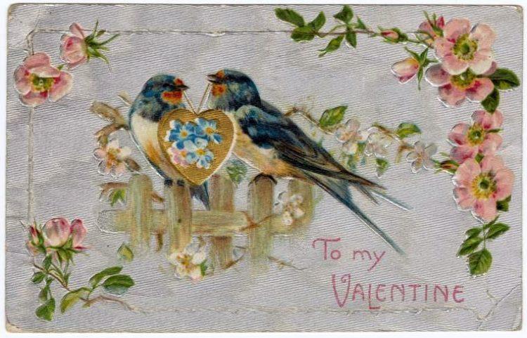 Vintage Valentine's Day cards from around 1900 (9)