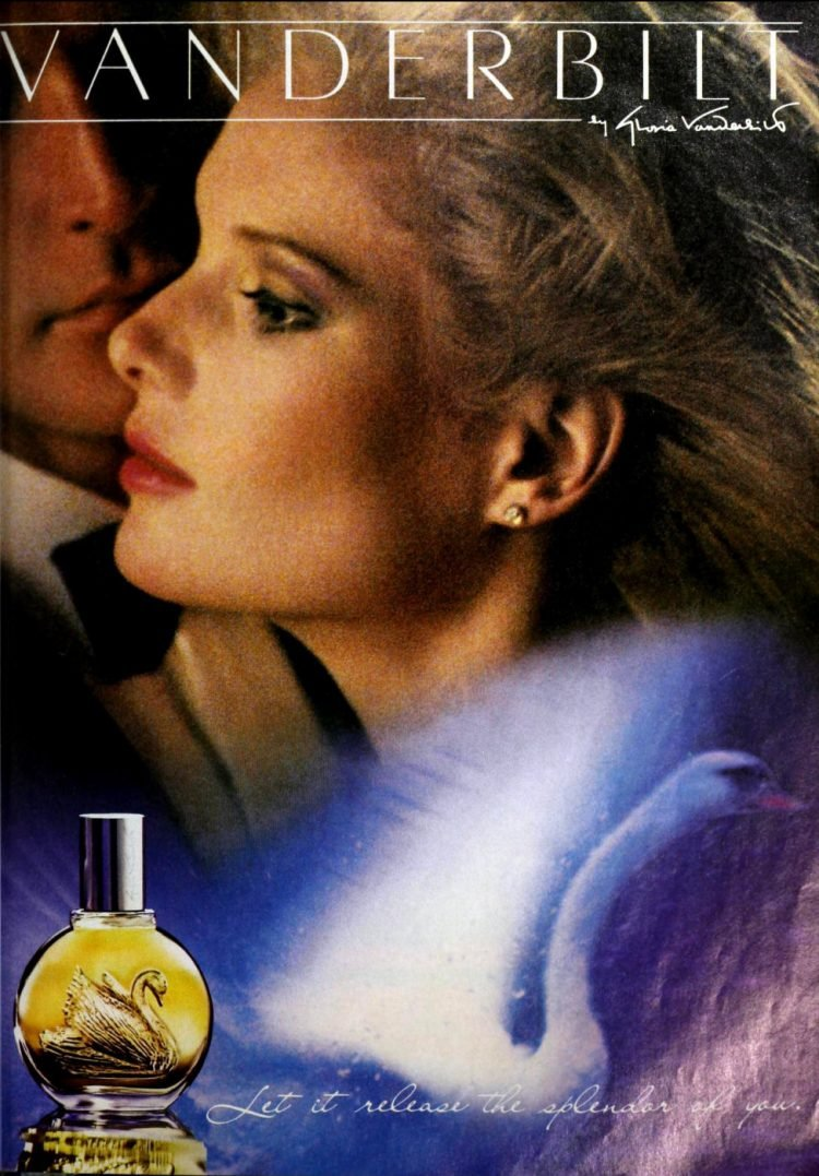 Vintage Vanderbilt perfume - Gloria Vanderbilt 1987