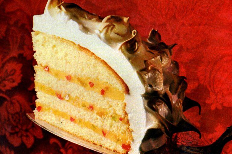Vintage Venetian rum cake recipe (1968)
