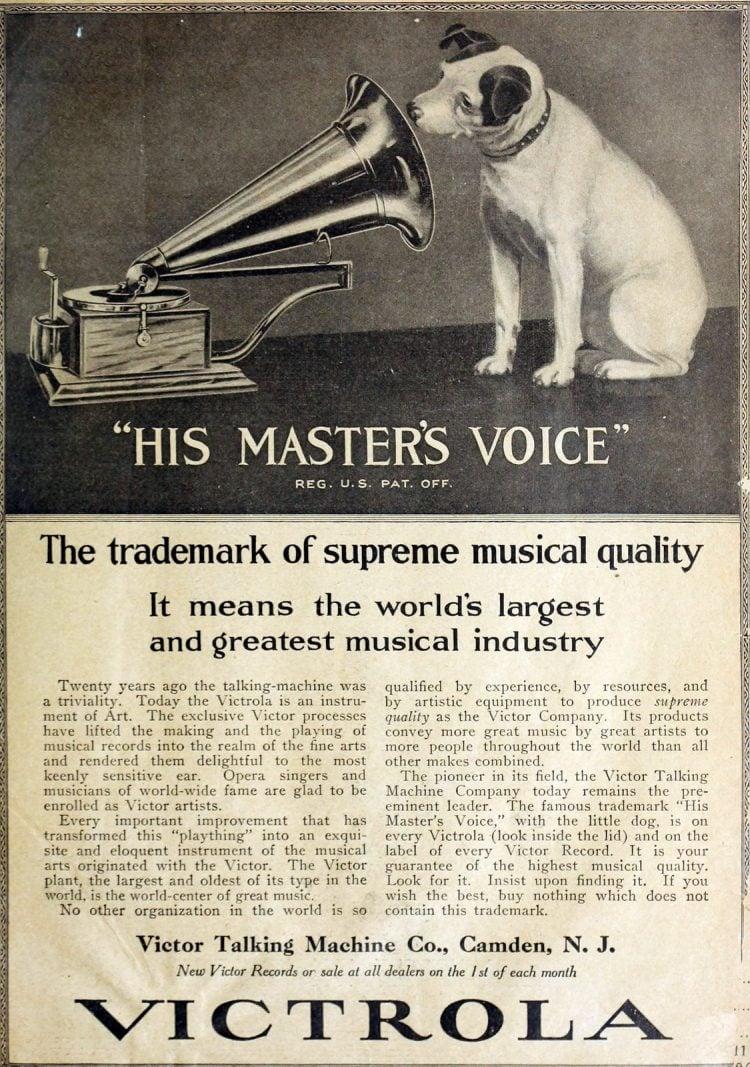 Vintage Victrola - His Master's Voice