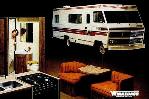 Vintage WInnebago motor home-camper