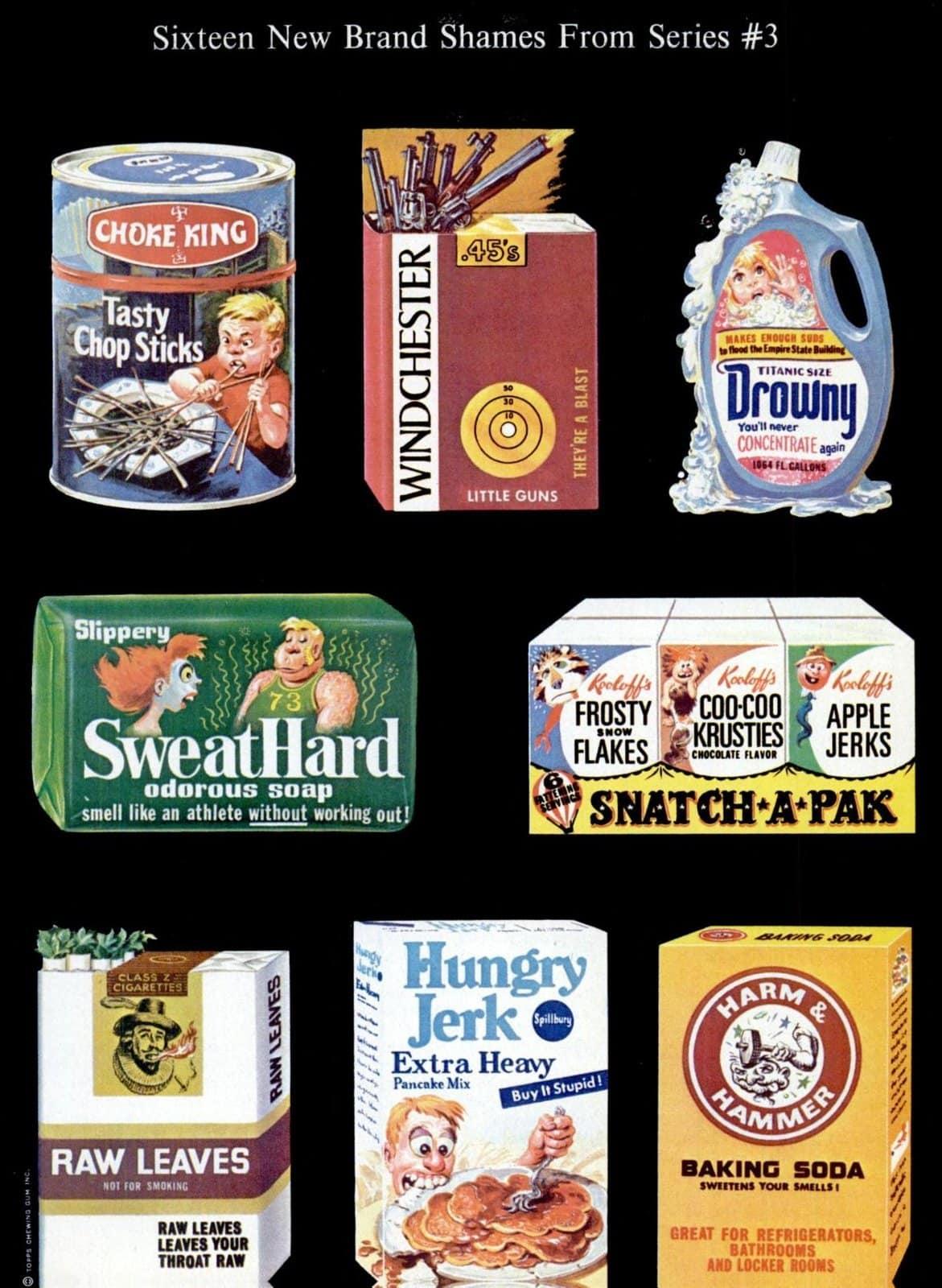 Vintage Wacky Packs - Packages in 1973 (1)
