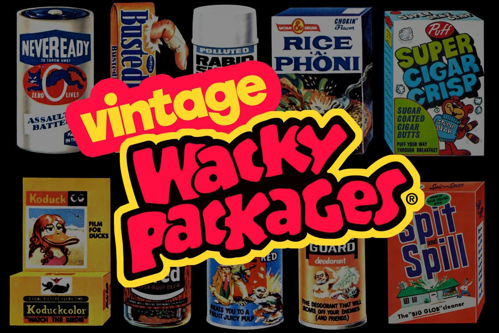 Vintage Wacky Packs - Wacky Packages