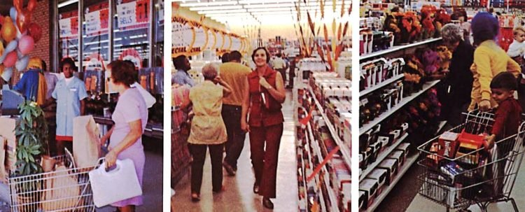Vintage Walmart store scenes from the early 1970s (2)