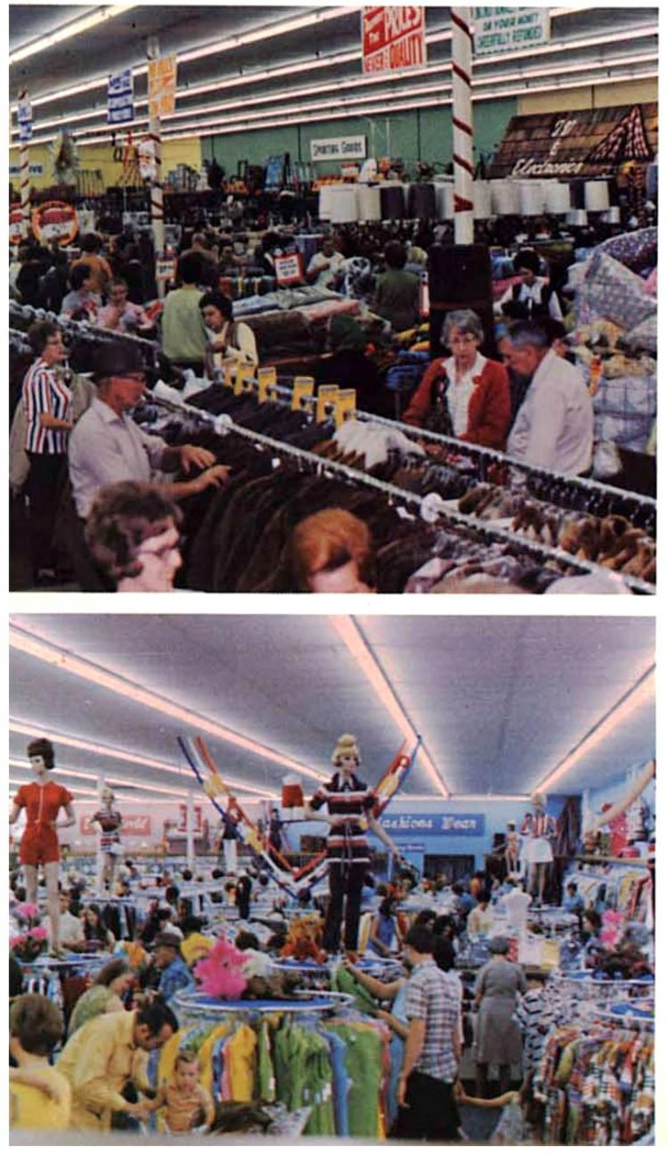 Vintage Walmart store scenes from the early 1970s (5)
