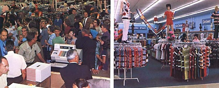 Vintage Walmart store scenes from the early 1970s (6)