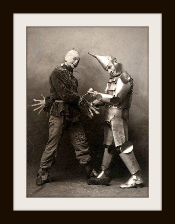 Vintage Wizard of Oz - Tin Man and Scarecrow (1)