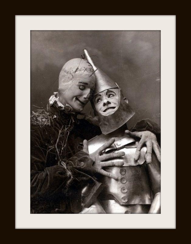 Vintage Wizard of Oz - Tin Man and Scarecrow (2)