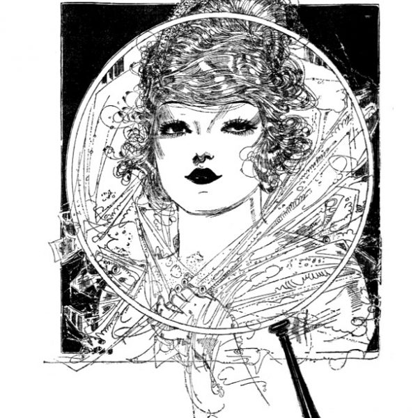 Vintage Women Coloring Book #1 Art by Nell Brinkley (2)