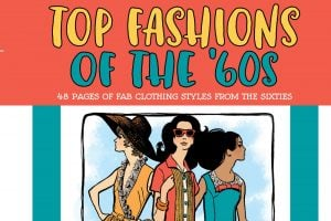 Vintage Women Coloring Book 11 Top Fashions of the '60s