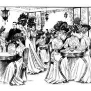Vintage Women Coloring Book #2 Edwardian Fashion - Sample pages (1)
