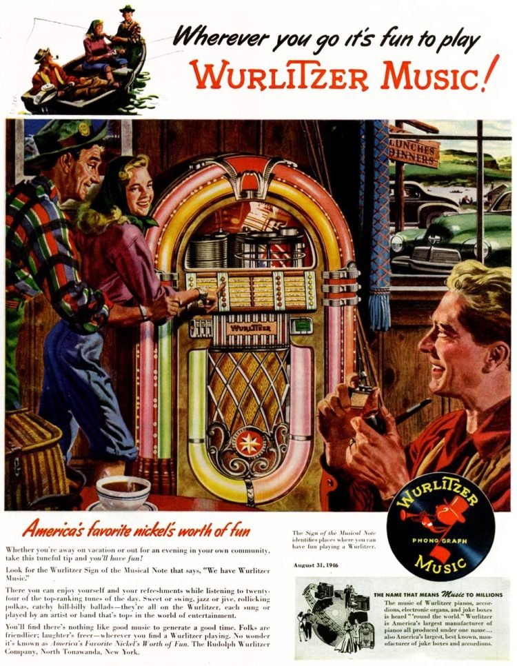 Vintage Wurlitzer jukebox - 1946