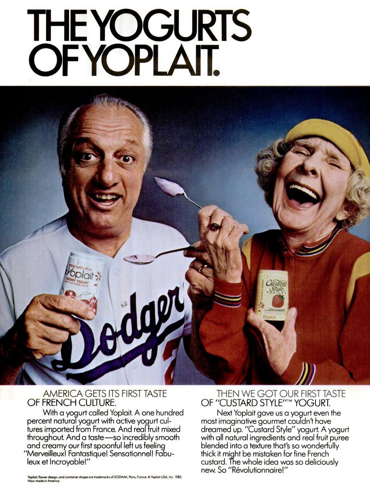 Vintage Yoplait Yogurt (1983)
