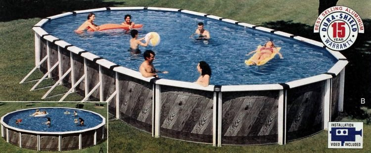 Vintage above-ground pools from the 1990s (4)