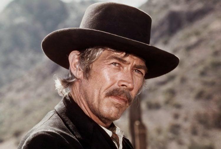Vintage actor James Coburn