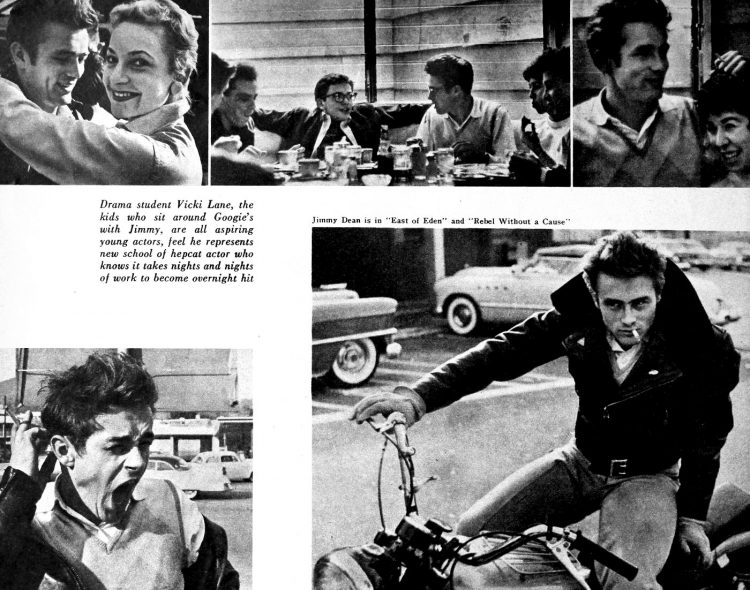 Vintage actor James Dean