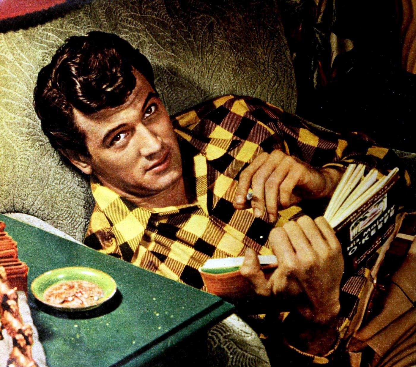 Vintage actor Rock Hudson - 1950s 1960s (4)