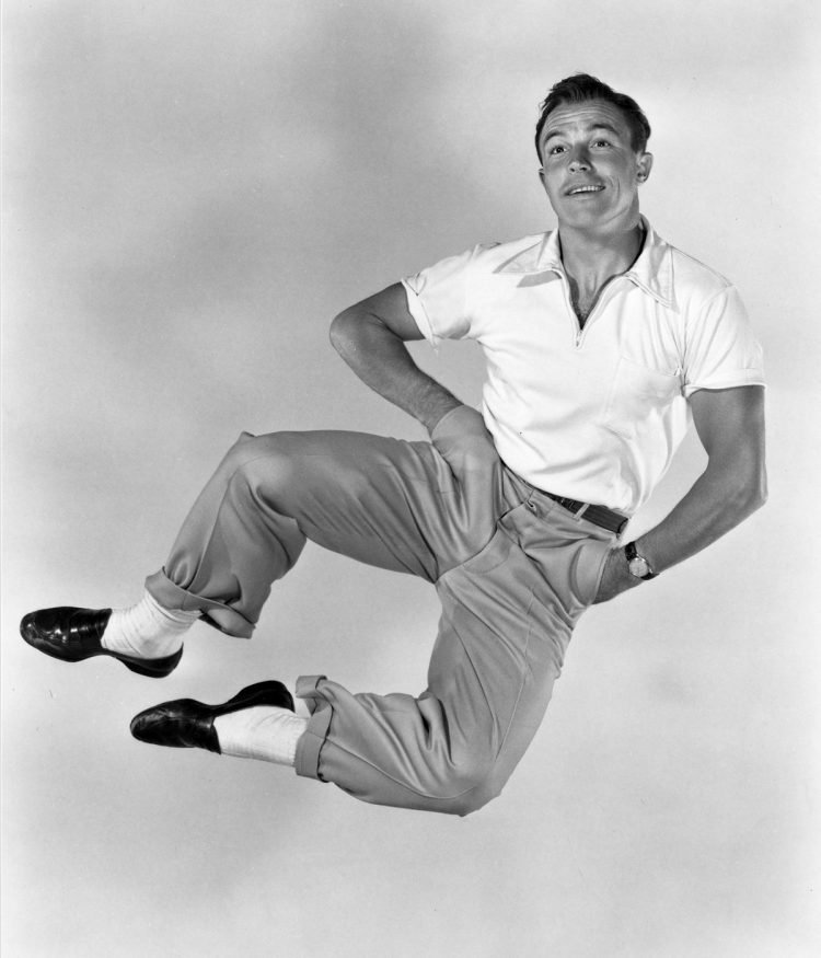 Vintage actor and dancer Gene Kelly (2)