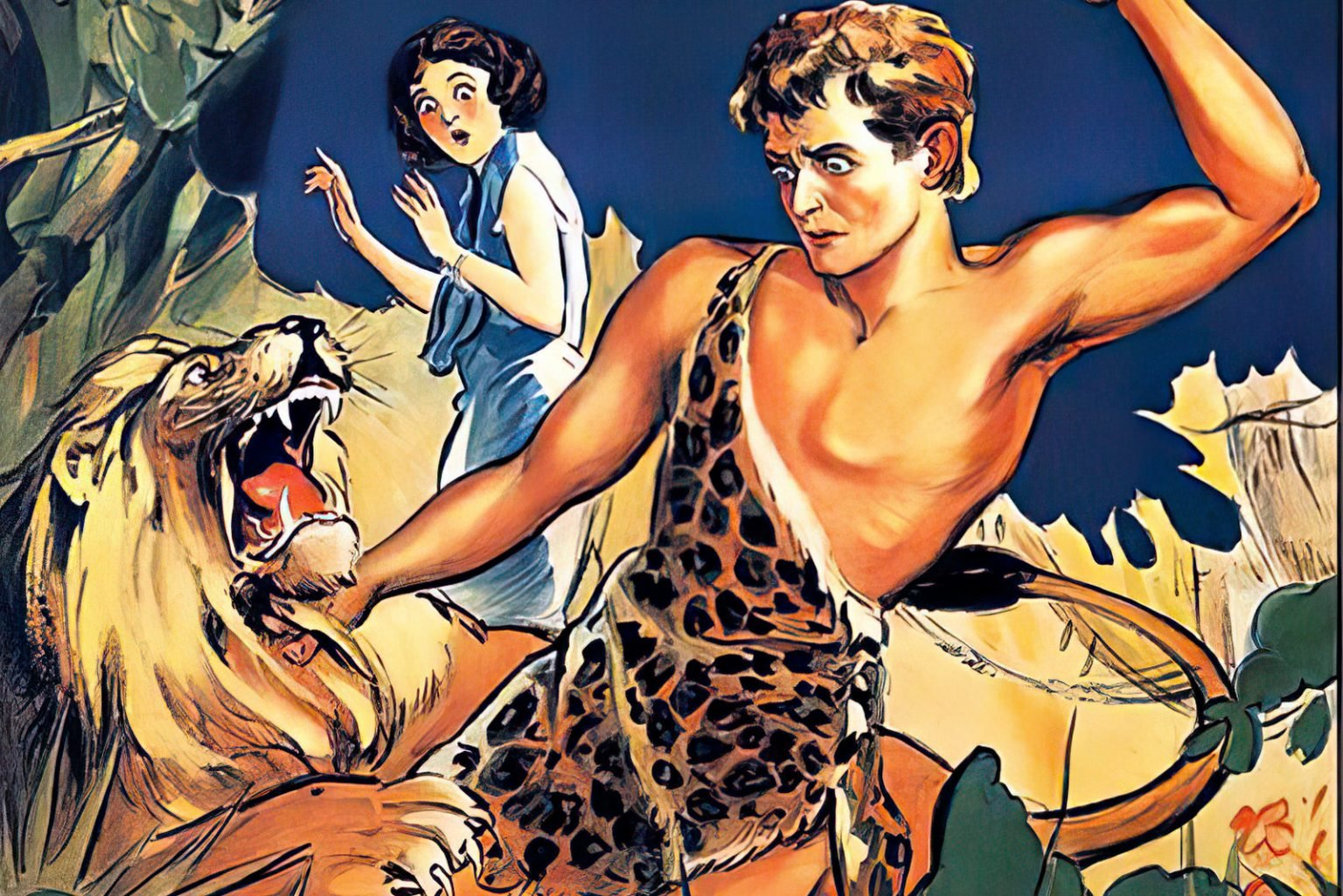 Vintage actors starring as Tarzan for first half of 20th century
