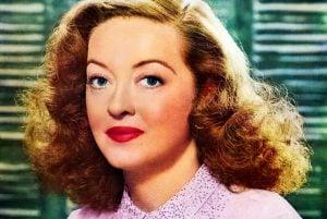 Vintage actress Bette Davis for Lustre-Creme shampoo 1951