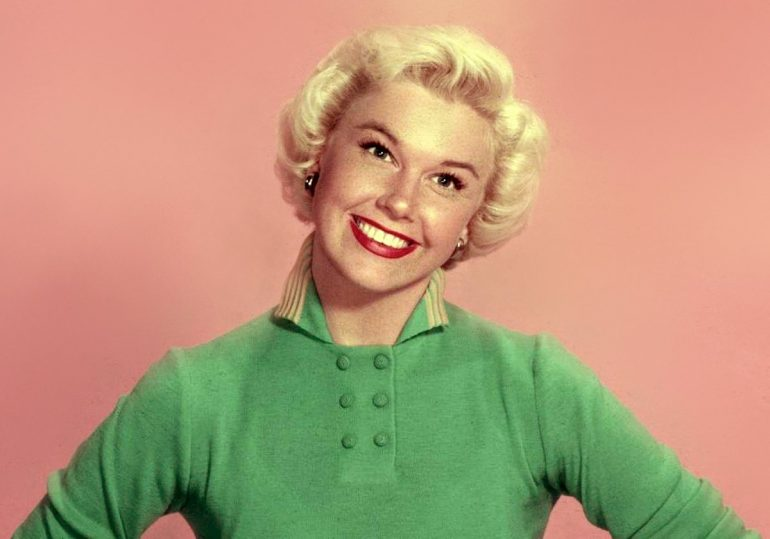 Vintage actress Doris Day 1959