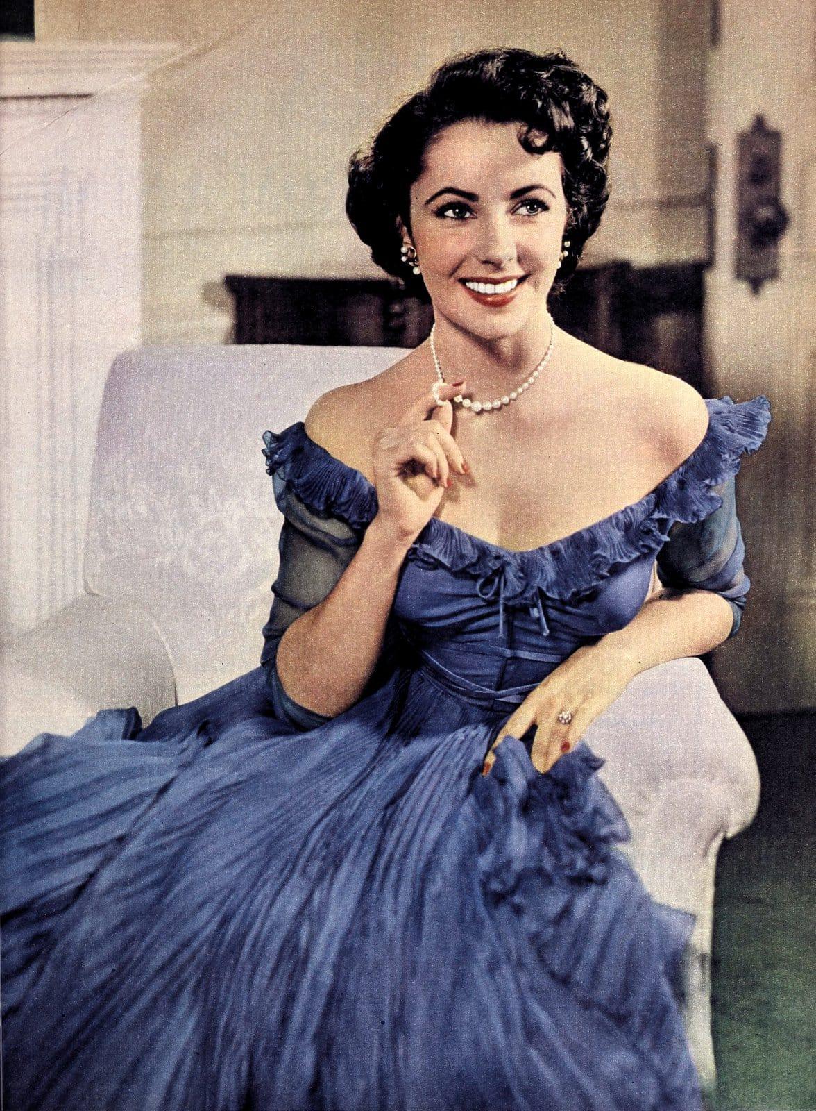 Vintage actress Elizabeth Taylor