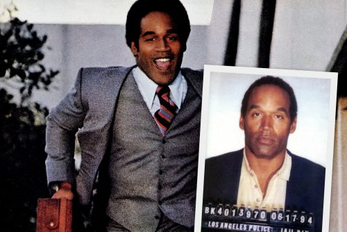 Vintage ads with OJ Simpson